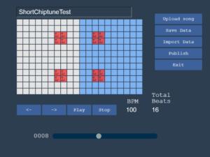 Screenshot of level editor